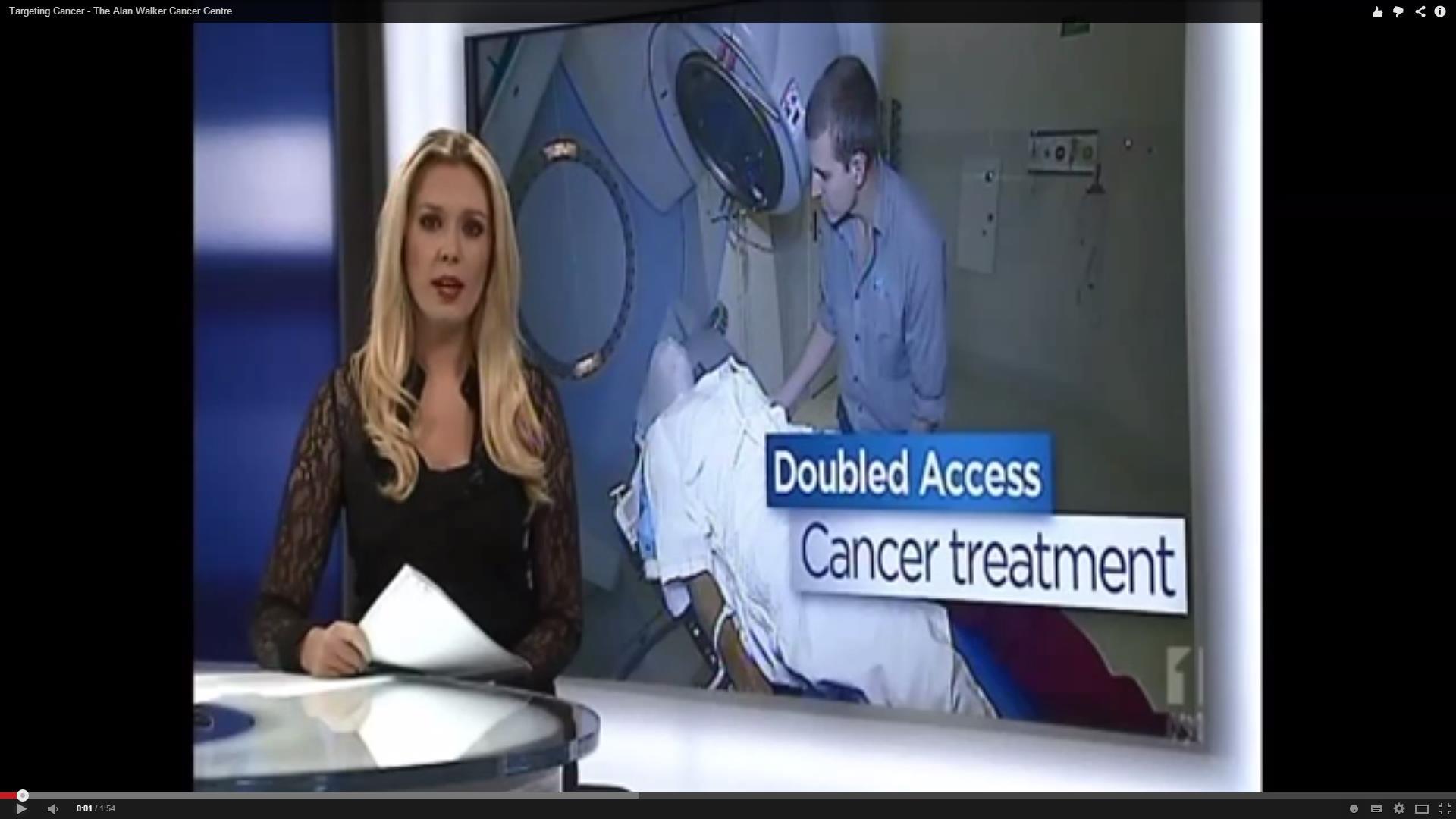 Alan Walker Cancer Centre Targeting Cancer