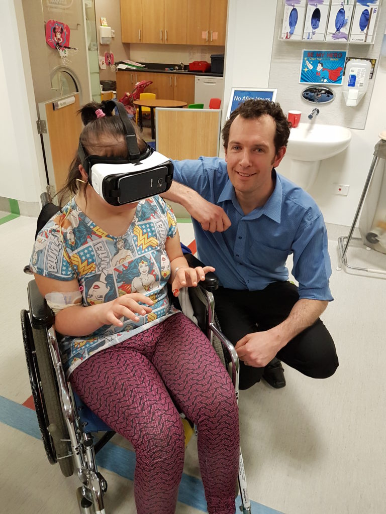 A Virtual Wonder For Young Patients Targeting Cancer