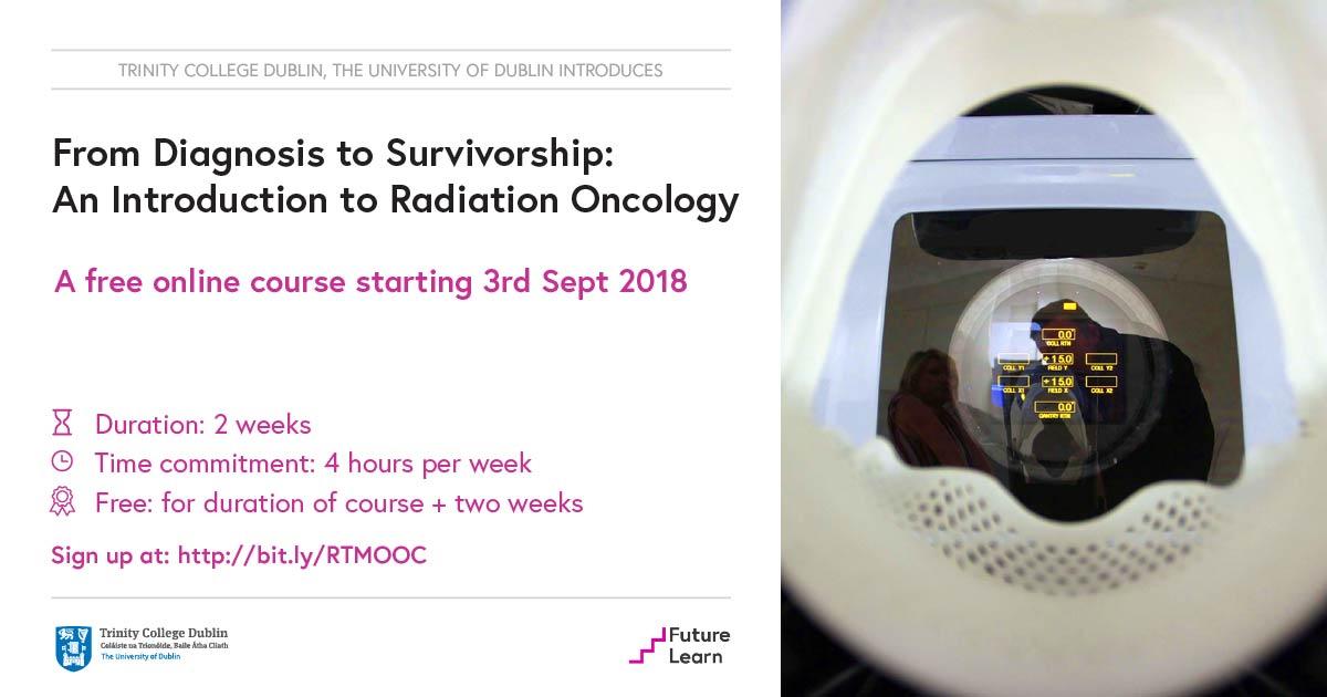 Unique Online Radiation Therapy Course Inviting Participants